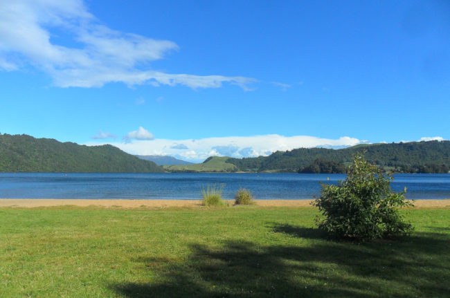 Lake Okareka, Nordinsel